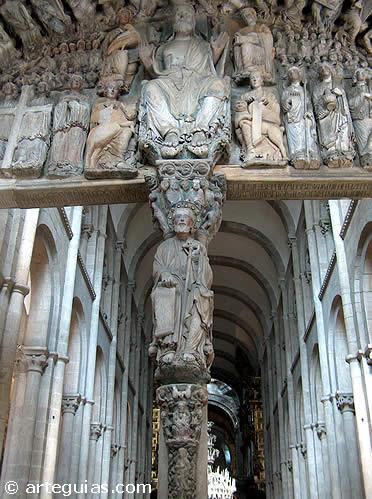 Portique de la Gloire de la cathédrale de Santiago
