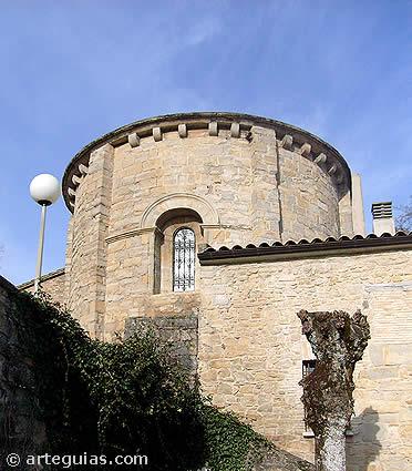 Igreja de Cízur Menor, na estrada francesa em Navarra